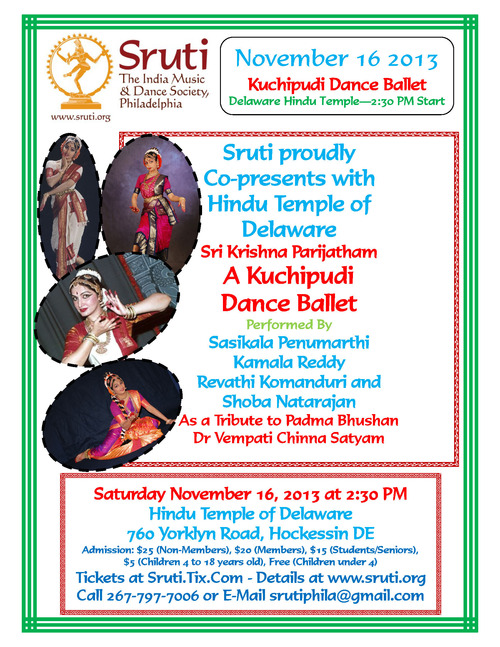 NJTamilEvents – Kuchipudi Dance Drama
