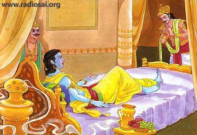 ஸ்ரீ கிருஷ்ண சரித்திரம் அத்தியாயம்-15  உபப்லாவ்யம்  இருவர் அணிகள்