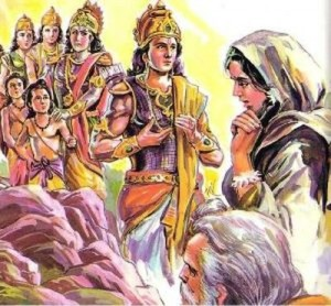 Scene -6 Seetha with Rama, Valmiki, Twins & brothers (1)
