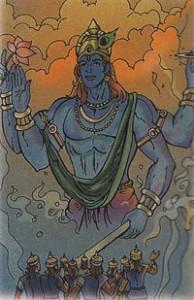 krishna's peace mission