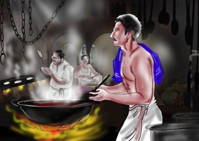 ஆனந்த் பவன்  [நாடகம்]  வையவன், சென்னை     காட்சி : 3