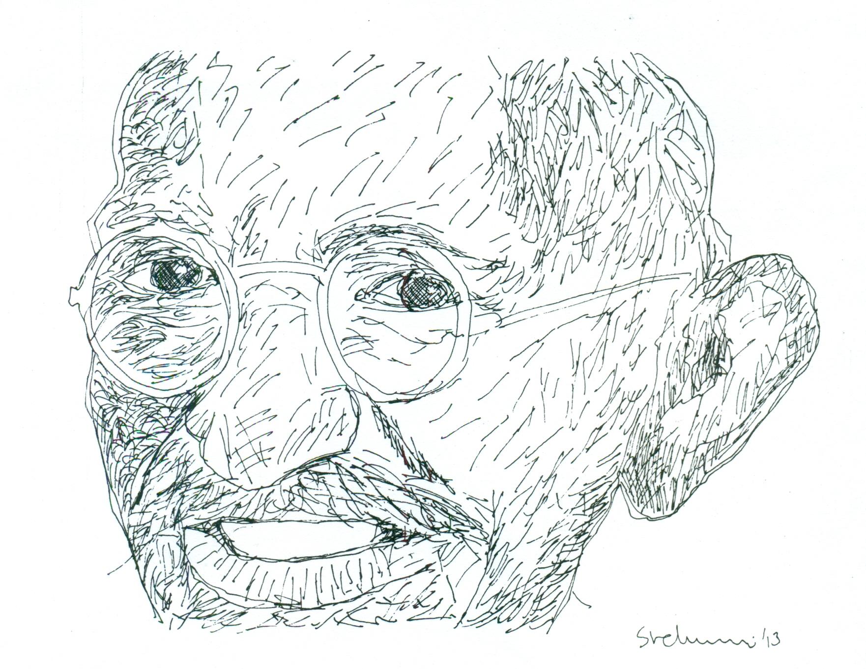 காந்தியடிகள் – ஓர் ஓவிய அஞ்சலி