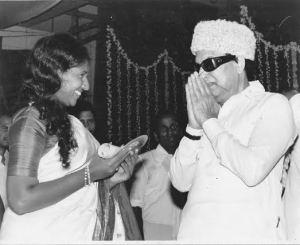 Mrs_Karthika Ganesar & MGR