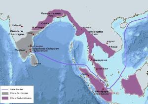 Chozha map