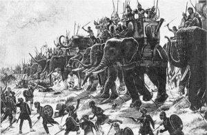 போர்களில் யானைகள்