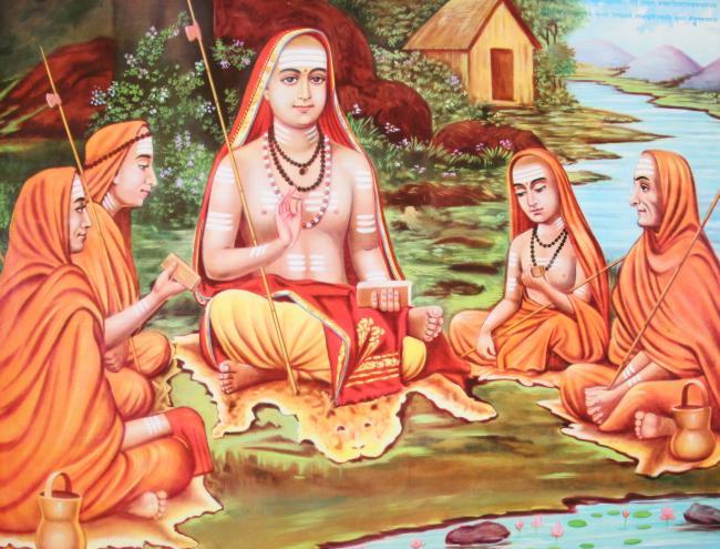 ஆதிசங்கரரின் பக்தி மார்க்கம்