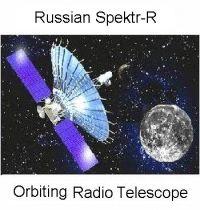 புவிமையச் சுழல்வீதியில் சுற்றிக் கருந்துளை ஆராயும் ரஷ்ய வானலை விண்ணோக்கி (Russian Satellite in Geocentric Orbit to Probe Black Holes )