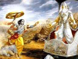 ஸ்ரீ கிருஷ்ண சரித்திரம்  – 20 குரு க்ஷேத்திரம்.  பீஷ்மரின் வீழ்ச்சி