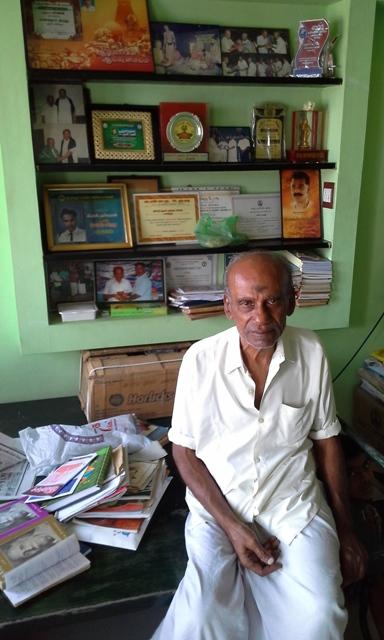 கர்ணன், முதுபெரும் எழுத்தாளர்